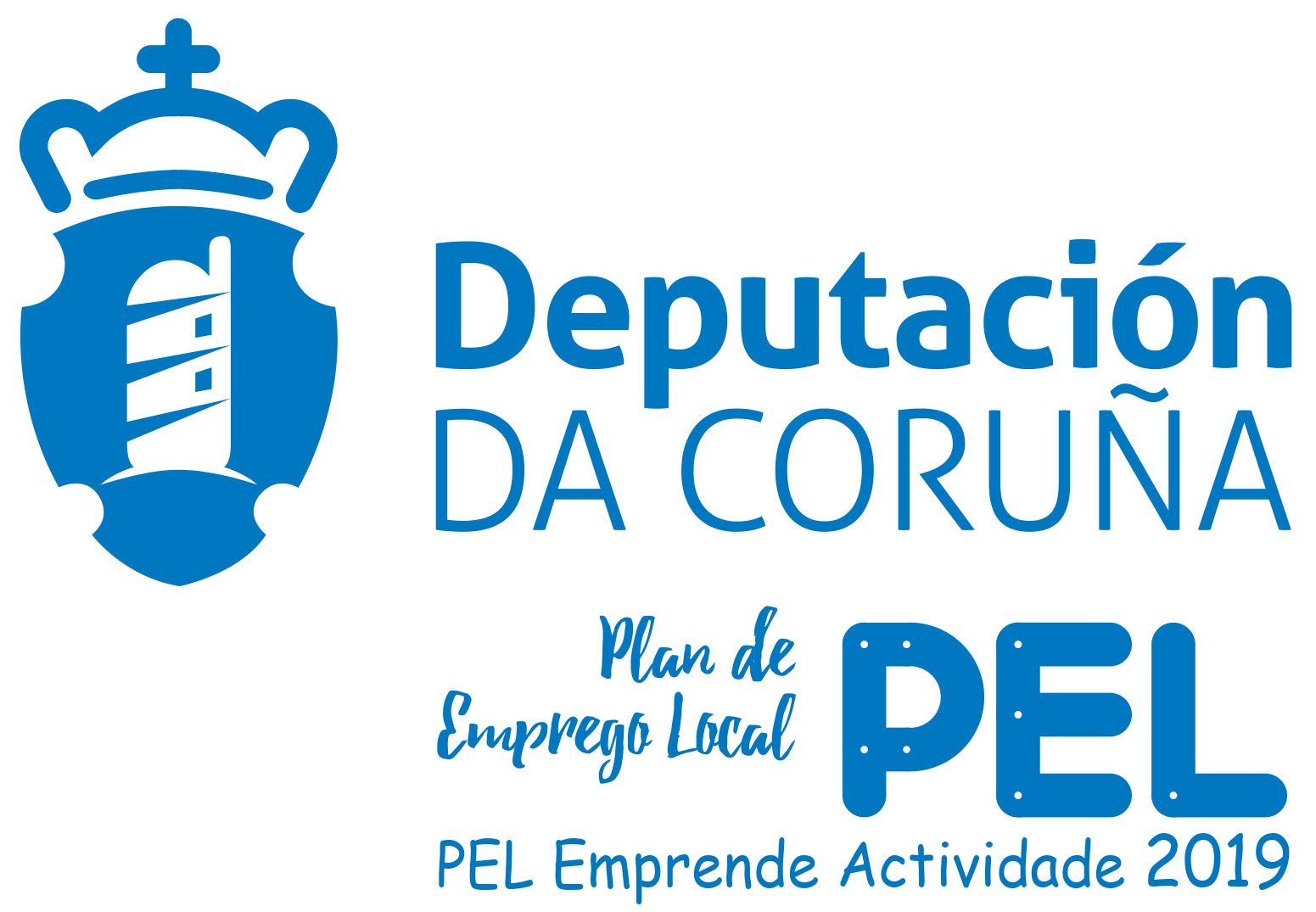 logo deputacion coruna PEL 2019